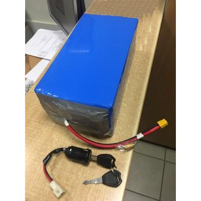 Универсальный литий-железофосфатный аккумулятор 24v12AH Elvabike.com