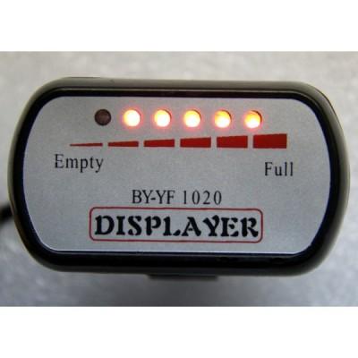Светодиодный индикатор уровня зарядки аккумуляторной батареи на 60v Elvabike.com