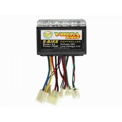 Контроллер Elvabike  36 V/350W для коллекторных  эл.дв. постоянного тока Elvabike.com