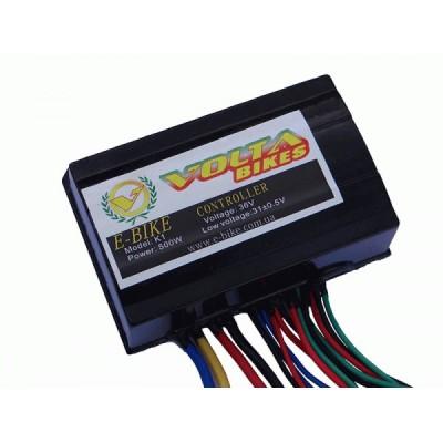 Контроллер Elvabike  36 V/500W для коллекторных эл.дв. постоянного тока Elvabike.com