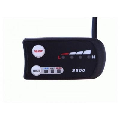 Контроллер Elvabike 48v600w c LED дисплеем в комплекте Elvabike.com
