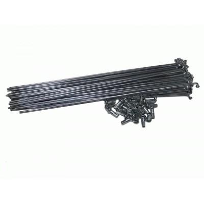 Спица длиной 204мм, диаметром 2,6мм (12G) Elvabike.com
