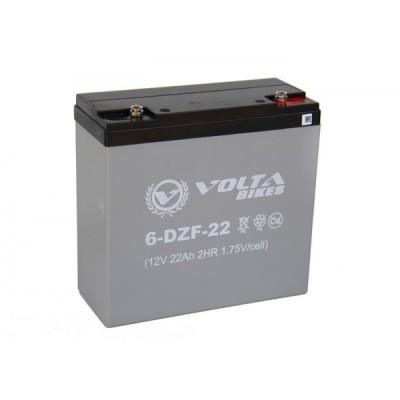 Тяговый свинцово-кислотный аккумулятор AGM Elvabike12v22Ah Elvabike.com