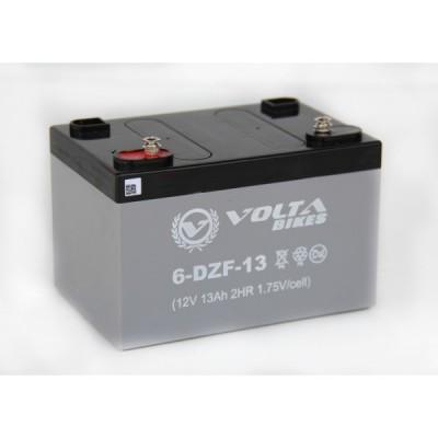 Тяговый свинцово-кислотный аккумулятор AGM Elvabike 12v13Ah Elvabike.com