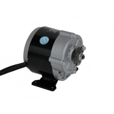 Электродвигатель постоянного тока 36v350w с редуктором Elvabike.com