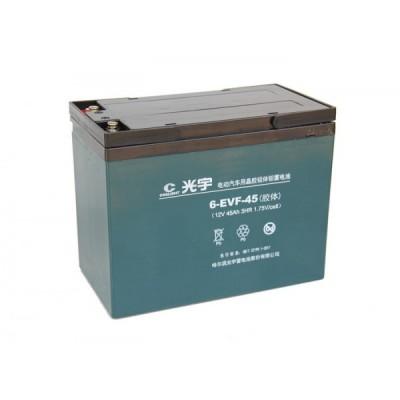 Тяговый свинцово-кислотный аккумулятор AGM 12v45Ah Elvabike.com