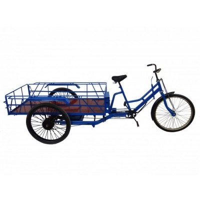 Электровелосипед грузовой трёхколёсный Elvabike Карго -1300 Elvabike.com