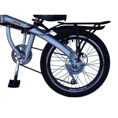 Электровелосипед складной Elvabike Лого Elvabike.com