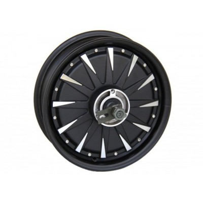 Мотор-колесо QS motor 72v3000w(6000w) с ободом 12' для электроскутера Elvabike.com