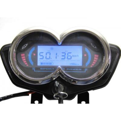 Универсальный цифровой блок приборов для электротранспорта с напряжением питания 48v-60v Elvabike.com