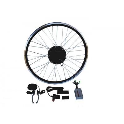 Электронабор с задним мини мотор-колесом 48v600/1100w «Супер» в ободе 16' - 28', мини контроллером и LCD дисплеем Elvabike.com