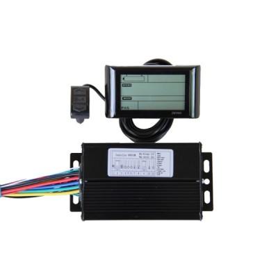 Контроллер Elvabike 48v/600w с LCD дисплеем в комплекте Elvabike.com