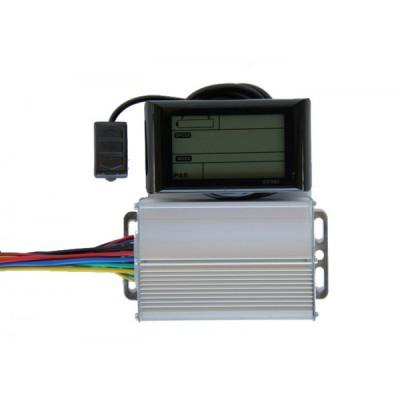 Контроллер Elvabike 36v/500w с LCD дисплеем в комплекте Elvabike.com