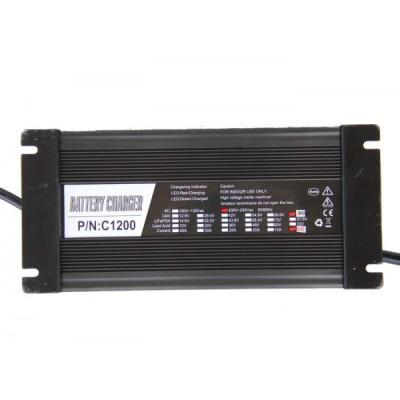 Автоматическое зарядное устройство для литий ионных АКБ на 96v 8A Elvabike.com