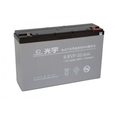 Тяговый свинцово-кислотный аккумулятор AGM 12v32Ah Elvabike.com