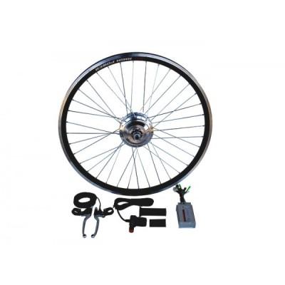 Электронабор с мотор-колесом 36v350/750w Турбо в ободе 26' - 28' Elvabike.com