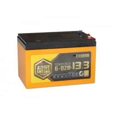 Тяговый свинцово-кислотный аккумулятор AGM 12v13.3Ah Графен - нано Elvabike.com