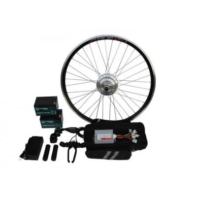 Полный электронабор с усиленным мотор-колесом 24v350w в ободе 16' - 28' и аккумуляторами 24v13Ah Elvabike.com