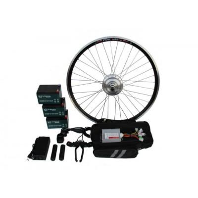 Полный электронабор с усиленным мотор-колесом 36v350w в ободе 16' - 28' и аккумуляторами 36v13Ah Elvabike.com