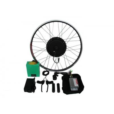 Полный электронабор с мотор-колесом 48v600/1250w в ободе 20'-28' и литий ионной АКБ 48v15Ah Elvabike.com