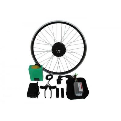 Полный электронабор с мини мотор-колесом  48v600/1000w в ободе 16'- 28'и литий ионной АКБ 48v12.5Ah Elvabike.com