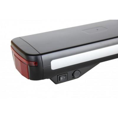 Литий ионный аккумулятор Elvabike 36v10Ah, с отсеком для контроллера, в комплекте с багажником Elvabike.com