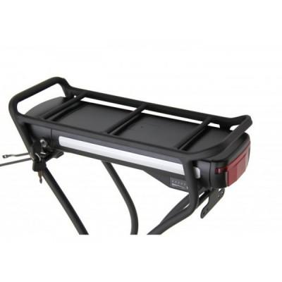 Литий ионный аккумулятор Elvabike, 48v7.5Ah, в комплекте с багажником Elvabike.com