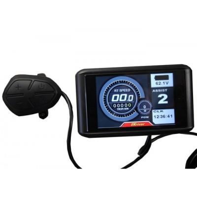 Цветной  LCD дисплей  для контроллеров Sabvoton 48v-72v Elvabike.com