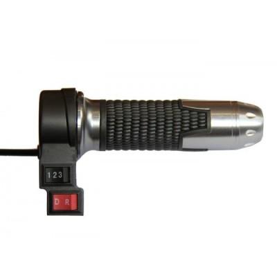 Ручка газа универсальная с кнопкой заднего хода и 3 -х позиционным переключателем Elvabike.com