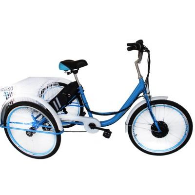 Электровелосипед трехколесный Хобби 1250 Elvabike.com