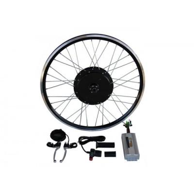Электронабор с мотор-колесом 2000/4000w в ободе 20'- 28' для установки сзади Elvabike.com
