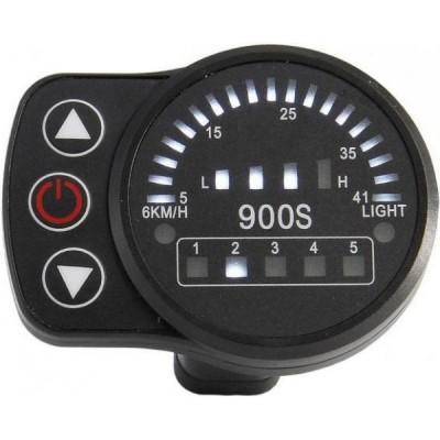 Дисплей LED-900S для контроллеров Kunteng на 24v,36v,48v Elvabike.com