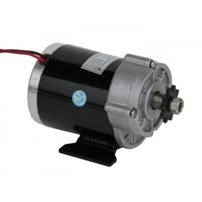 Электродвигатель постоянного тока 24v450w с редуктором Elvabike.com