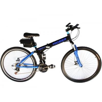 Электровелосипед складной двухподвесный Elvabike Майгир 750 Elvabike.com