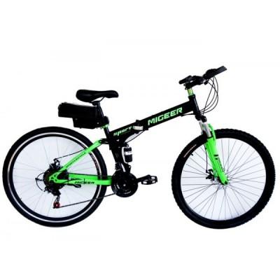 Электровелосипед складной двухподвесный Elvabike Майгир 1000 Elvabike.com