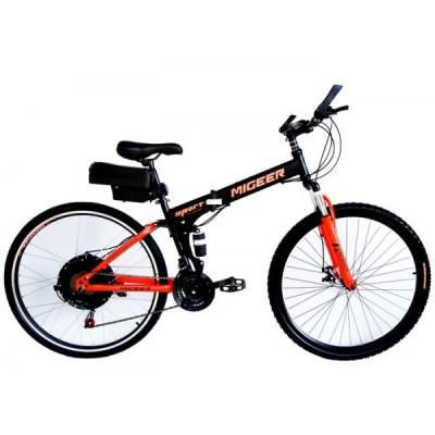 Электровелосипед складной двухподвесный Elvabike Майгир 1250 Elvabike.com