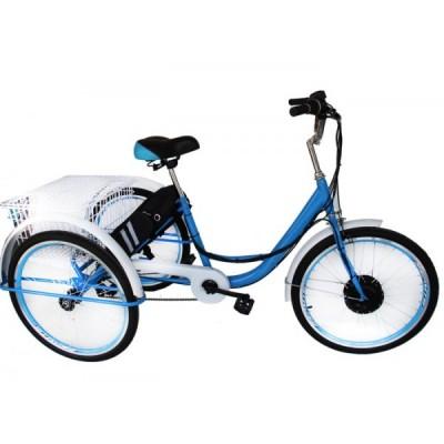 Электровелосипед трехколесный Elvabike Хобби 1000 Elvabike.com