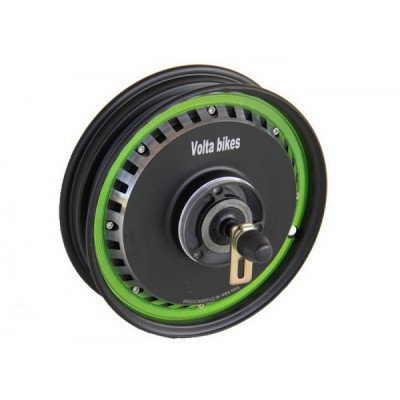 Низкооборотное прямо-приводное мотор-колесо 48v1000w с ободом 10' для тачки Elvabike.com