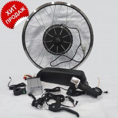 Полный электронабор с мотор-колесом 48v500 в ободе 20'-28' и литий ионной АКБ 48v15Ah Elvabike.com
